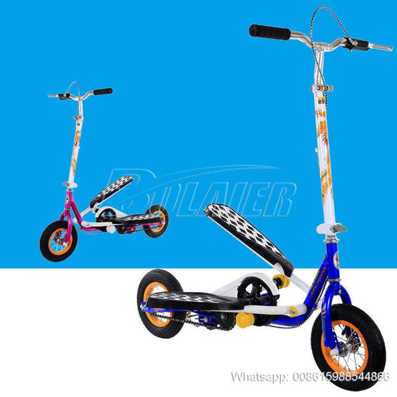 Wing Flyer Scooter Fitness Foot Step Dual Pedalfor Kids and Adults Kids 3 Wheel Scooter /Kick Scooters