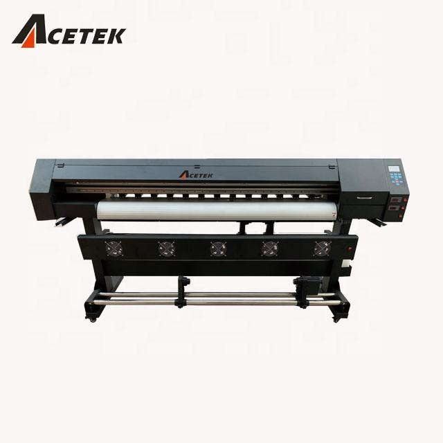 canton fair Acetek 6 feet/10 feet tarpaulin flex banner vinyl eco printer for dx5/xp600/dx11 head