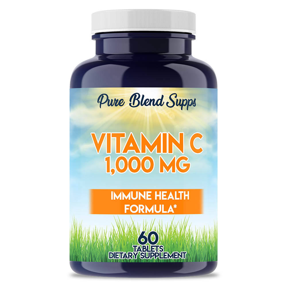 Wholesale natural organic supplements vitamins - Pure Blend Supps Vitamin C