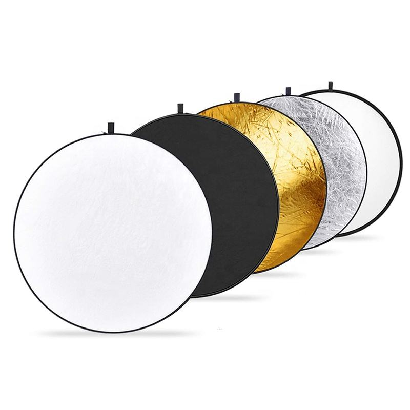 Portable 110cm Multi Disc 5 in 1 colors Photography Reflector accessories