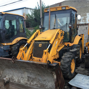 Digunakan JCB Backhoe 3cx 4cx Loader, JCB 4CX Backhoe Wheel Loader, JCB Backhoe 4cx 4x4