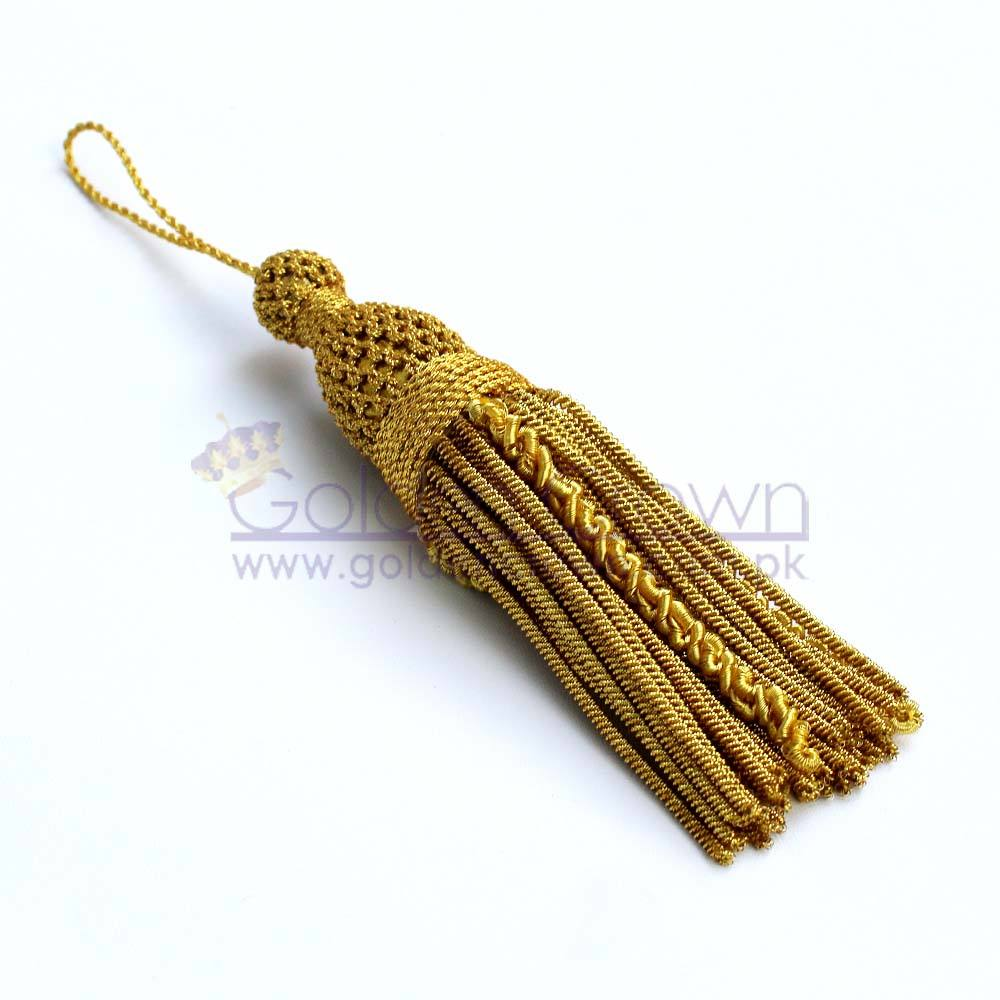 French Bullion Wire Metallic Tassels Bullion Wire Tassel Supplier Bullion Tassel