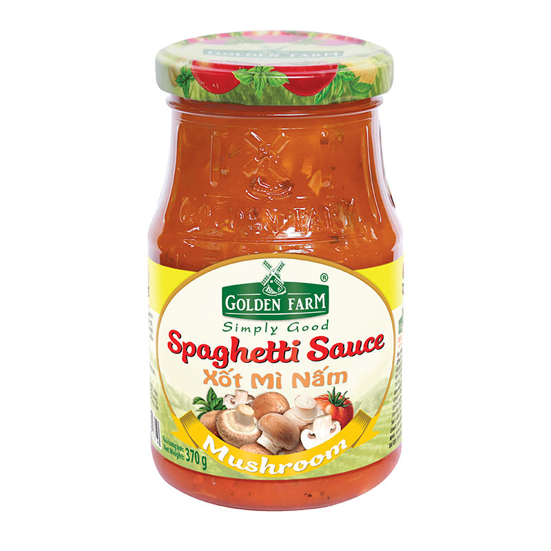 High Quality Pasta Sauce - 370 gr Tomato And Mushroom Spaghetti Sauce From Supplier Vietnam