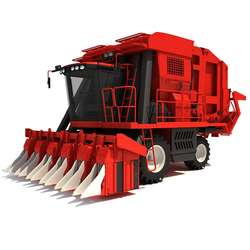 All feed rice and wheat Combine Harvester with cheap price