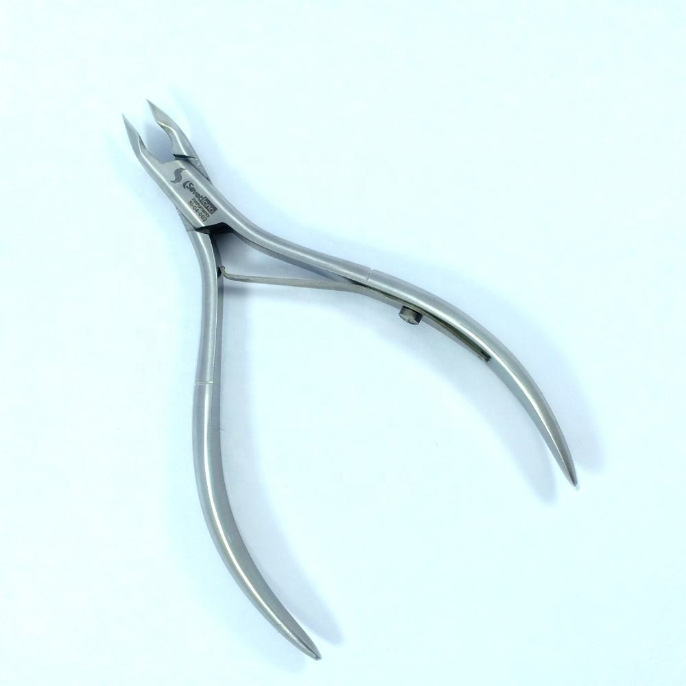 Best Russian Cuticle Nail Nipper, High Quality stainless Steel Vatnami Nail Nipper by Sevetlana Instruments