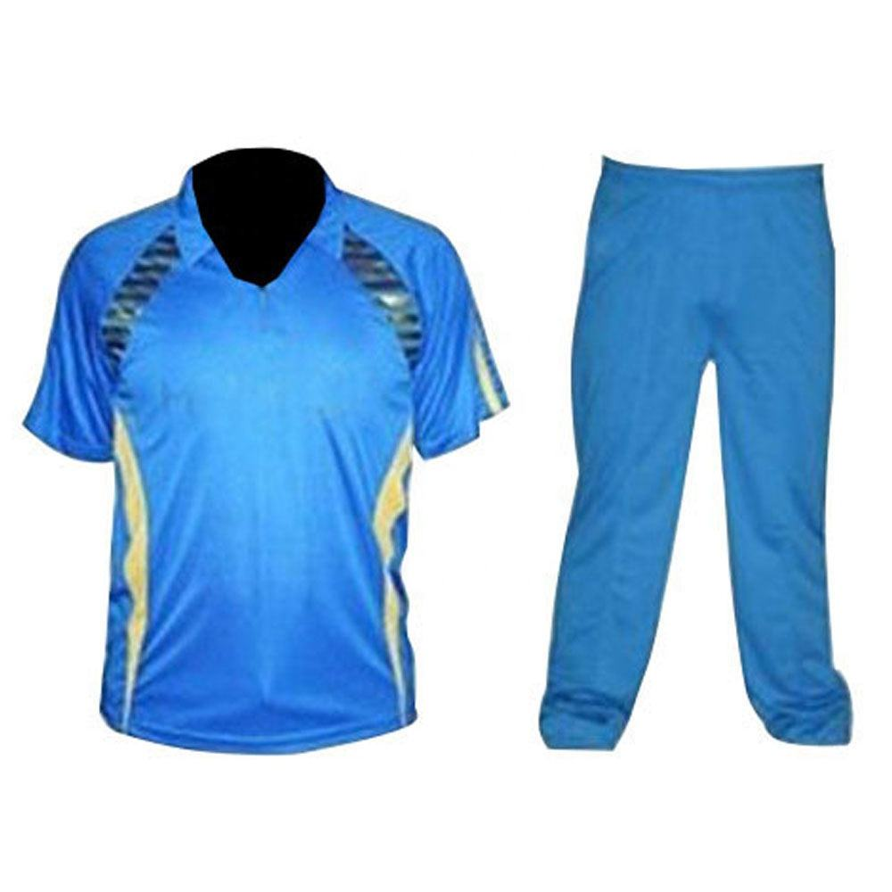 Digital Sublimation Cricket Jersey Custom Wholesale Cheap Sport Clothing Men's Cricket Uniform Cricket Shirts