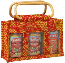 JUTE SMALL JAR BAG pvc window manufacture from india kolkata west bengal