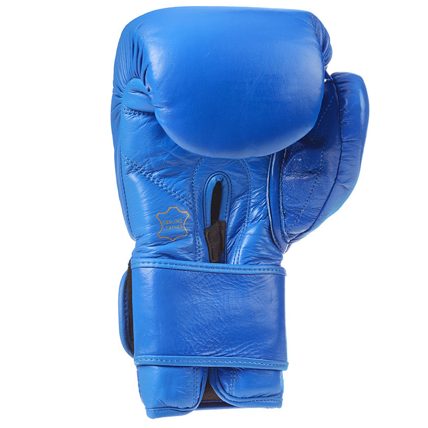 custom made high quality cowhide leather / PU leather training boxing gloves golden brown special color