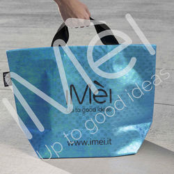 HOT SALES STYLISH NON WOVEN BLUE BAG FOR STORAGE & PROMOTION