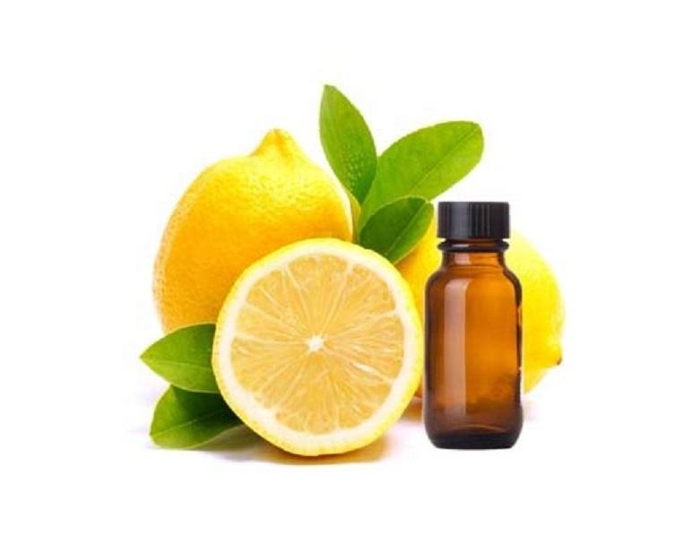 100% PURE LEMON PEEL ESSENTIAL OIL FOR COSMETIC USE, SKIN & HAIR CARE
