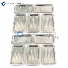 Set of 10 Pieces Scaler Tray Dental Instruments Dental Tray