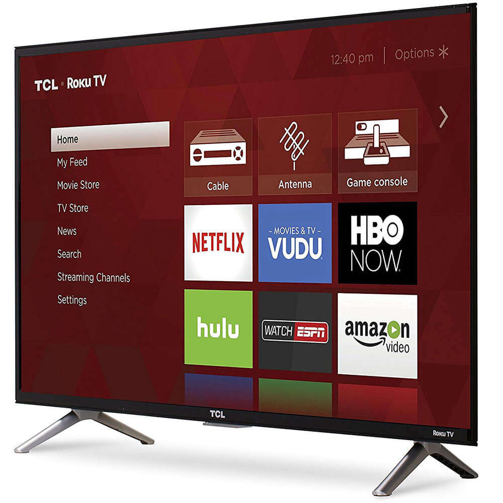BUY 2 GET 2 FREE TCL 55R617 55-Inch 4K HD Roku Smart LED TV (2019 Model)