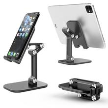 Universal Angle Adjustable Foldable Mobile Phone Desktop Stand Aluminum Alloy Tablet mobile Phone Stand Holder