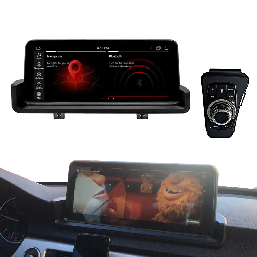 KANOR 10.25 inch 4+64G Multimedia for BMW 3 Series e90 e91 e92 e93 Android Video 2006-2012 with 4G lte mirror link