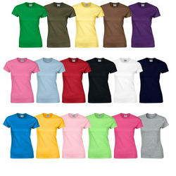 Women Ladies Fashion Custom Made cut and sew Custom printing T Shirt -Customized Logo Printed Blank best T shirts