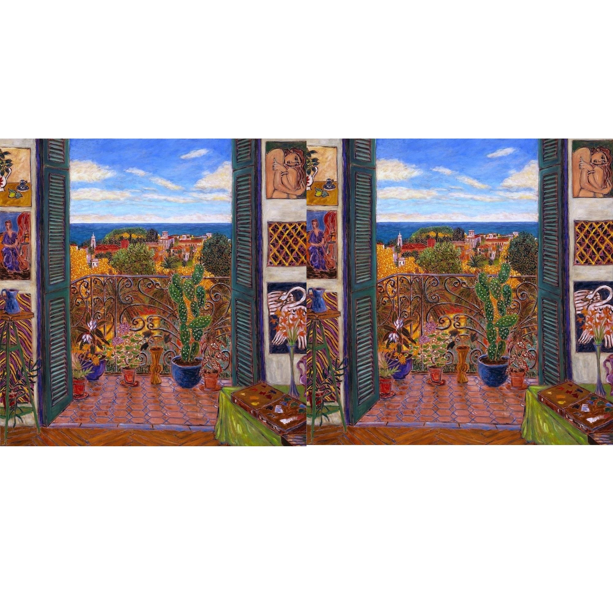 Best Print Canvas Matisse's Studio in Nice-Cimiez I With Size 16 x 16 in (50 x 50 cm) From UK