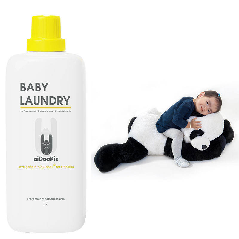 No laundry enzyme, no thickening agent, baby rest assured laundry detergent
