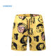 Ready Stock Small MOQ Yellow Color Summer Wear Pant Summer Shorts Men Shorts