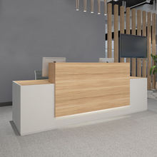 Modern Design Office Counter Table Commercial Reception Desk