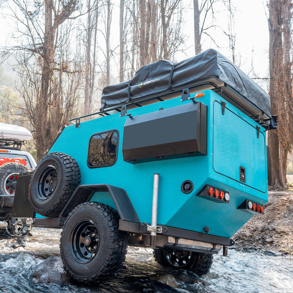Ecocampor Mini Offroad Camper Rimorchio Made in China