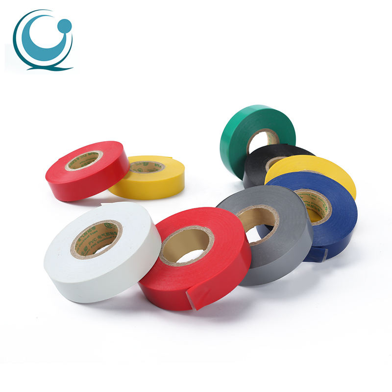 Custom 19mm osaka pvc exterior orange fireproof electrical insulation tape