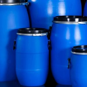 200l 220l barrel 55 gallon blue drum plastic stacking drums with high quality