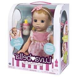 High Affordable Luvabellas Blonde Hair Responsive Baby Doll with Real Expressions and Movement