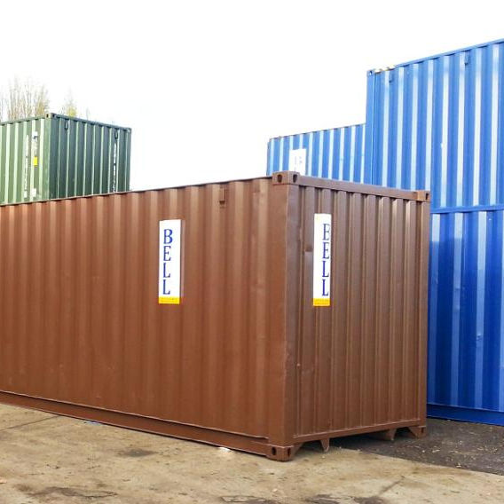 Used Second Hand Empty Sea Worthy 20ft Shipping Container for Sale in Thailand