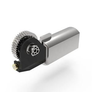 12v Small Electric Worm Stepper Gear Motor with High Torque for Motorized Tablet Medical Chair
