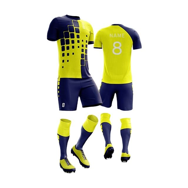 Wholesale custom sports dye sublimation design your own dry fit soccer jersey wear for sale