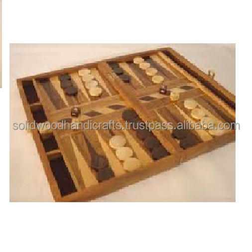 CLASSICAL BACKGAMMON GAME SET ITEM WITH HIGH QUALITY