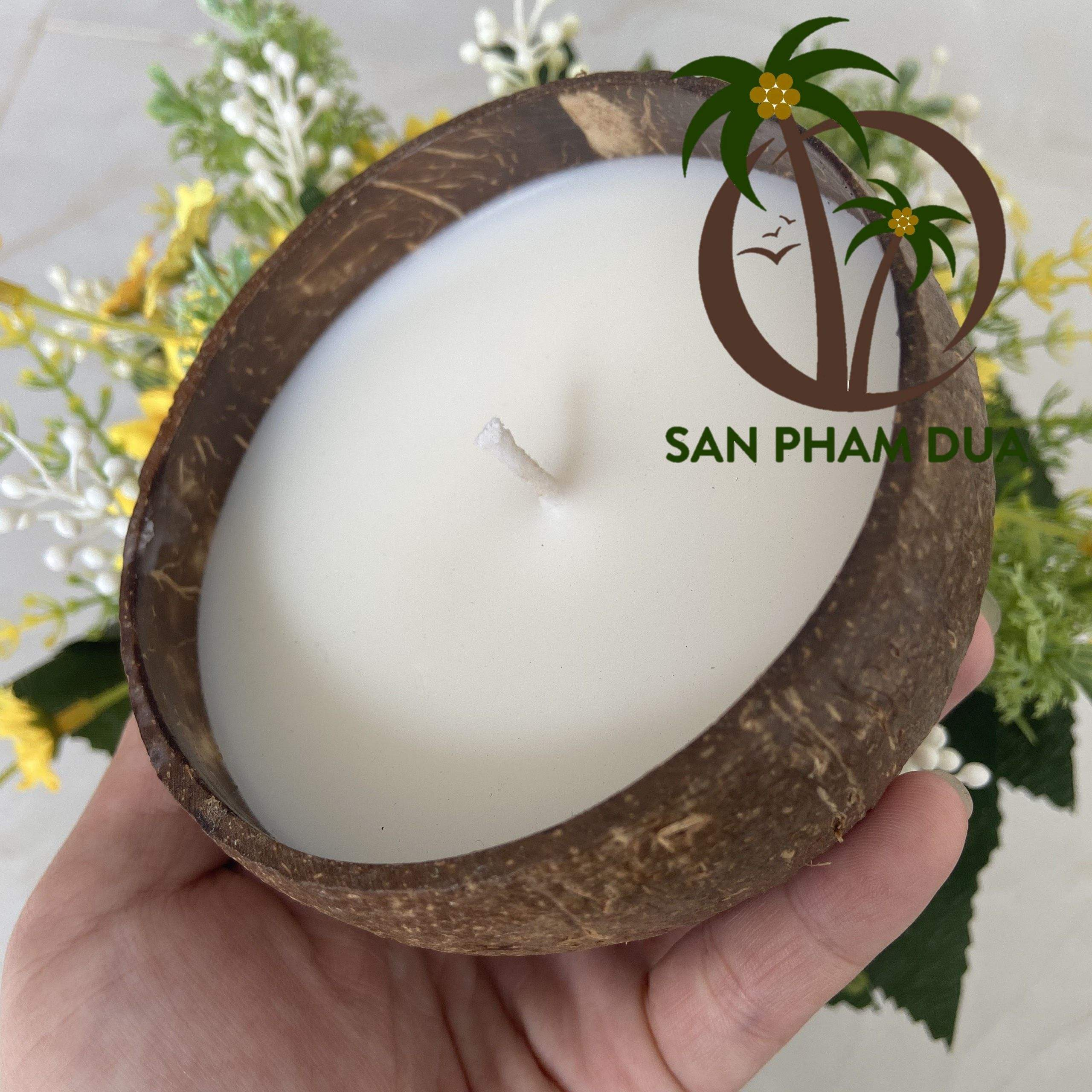 HANDMADE CANDLES COCONUT WAX NATURAL COCO BOWL PARAFFIN WAX FOR CANDLE SOY WAX CANDLE VARIOUS SCENT FOR CHRISTMAS GIFT