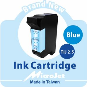 Spot Blue Ink Cartridge 1918 TIJ 2.5 51645A 45A Dye Based Inks Textile Coding Mailing Addressing Cheque