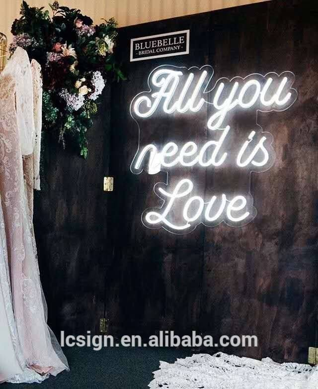 wedding decoration led illuminated giant letter love letters