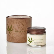 Chinese Supplier Private Label Natural Organic Hydrating Hemp Seed Oil Facial Moisturizing CBD Cream