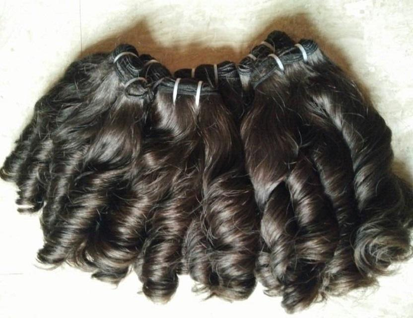 "3Pcs Lot 10""-28"" Unprocessed Brazilian Virgin Hair Loose Wave Wavy Curly Natural Black Remy Human Hair Weave/Weft Bundles"