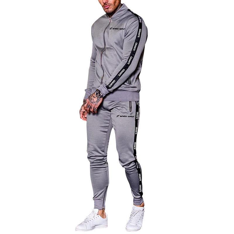 MR X WEAR OHMYJUST men tracksuits men long sleeve sport wear joggers suit