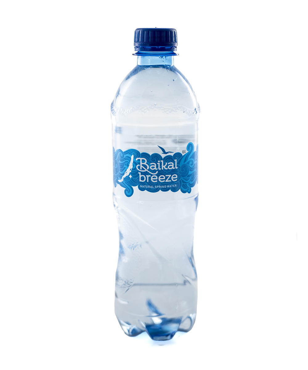 "Packaged natural drinking water ""Baikal Breeze"" 0.5 L"
