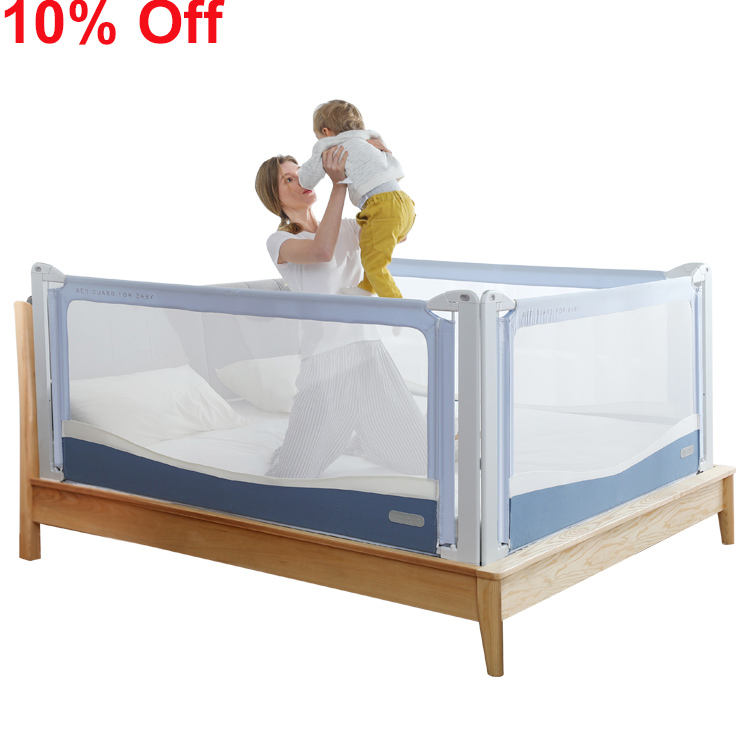 Factory Supply 85Cm Height Safety Elderly Toddler Bed Assist Side Rail Baby Guardrail Bumper For Baby