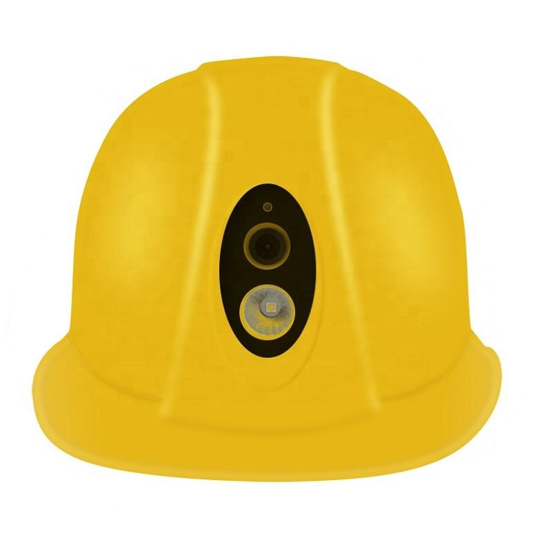 WiFi 4G 3G Safety Helmet smart hard hat with Camera Bluetooth GPS torchlight for industrial