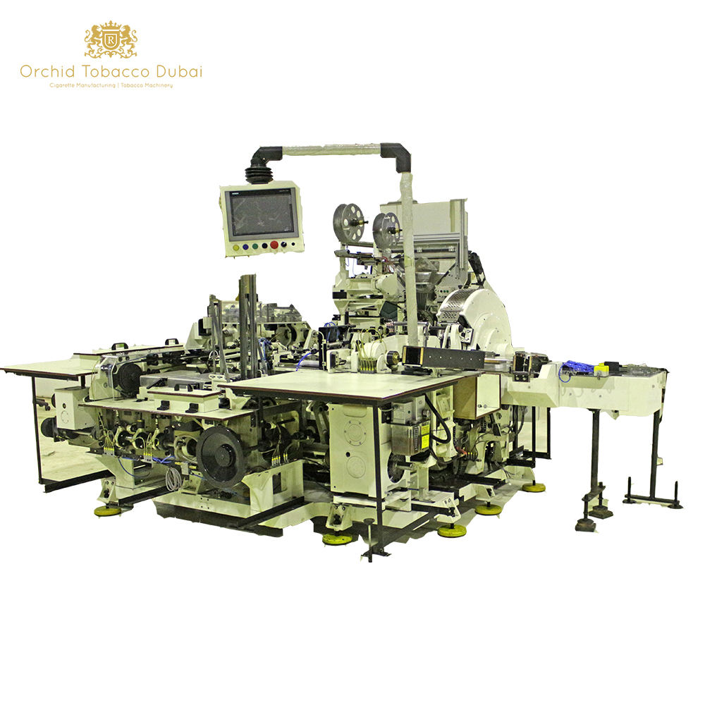 Cigarette packing machine Molins HLP-2 Complete Tobacco Cigarette packing line