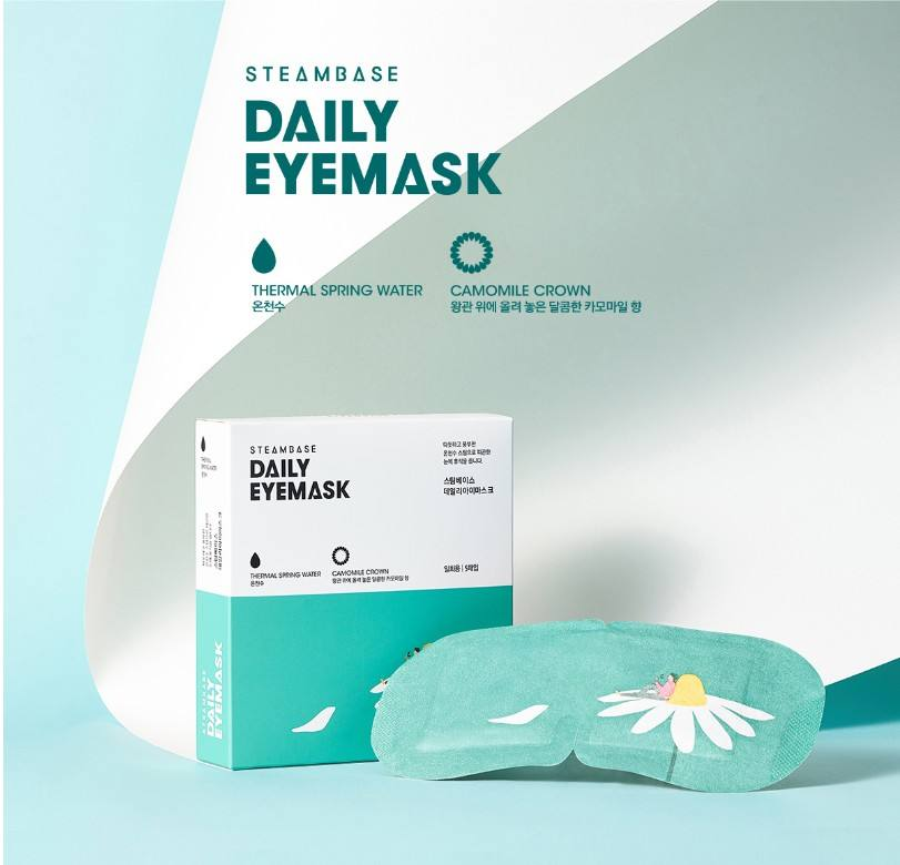 DAILY EYEMASK CAMOMILE CROWN(5 sheet)Aroma eye patches for dry skin Korea eye mask