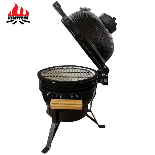 13 inch outdoor kitchen kamado BBQ Grills Charcoal Grills smoker bbq grill auplex ceramic kamado ceramic barbecue