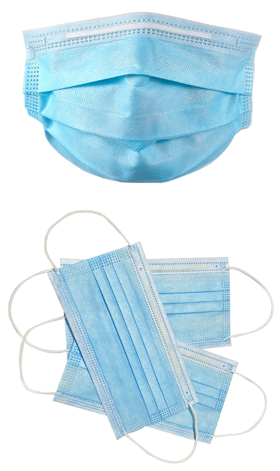 Disposable Cheap Non-woven Face Mask Disposable Earloop In Stock with CE