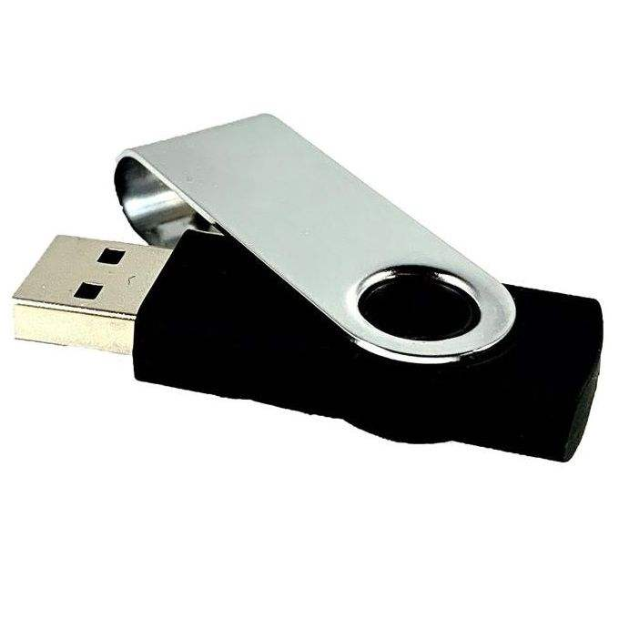 4Gb Swivel Flash Drive 2.0 Blank/Non-Branded With Customizing Options Available