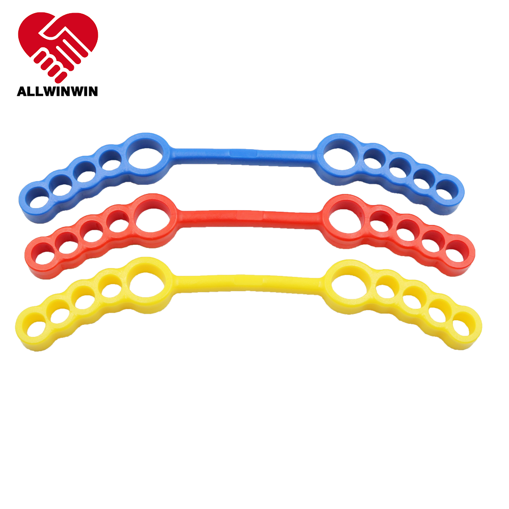 ALLWINWIN TOE01 Toe Exerciser - 2 Feet Resistance Tube Arthritis Yoga Bunion Stretcher Strengthener