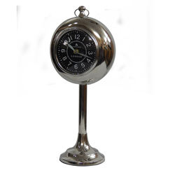 hot selling clock modern design table clock stainless steel table clock