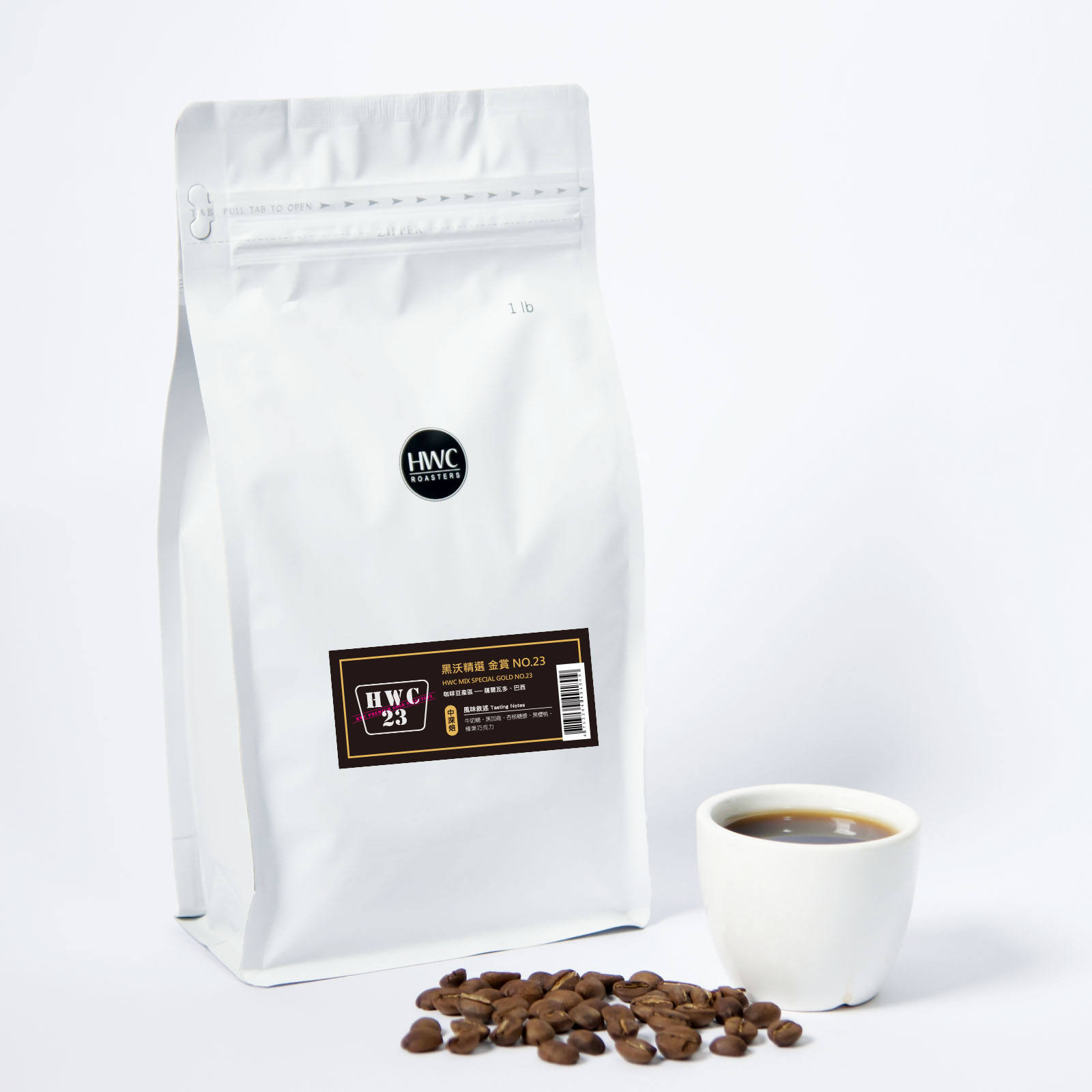 House Blend Gold No.23 Roasted Coffee Bean Wholesale