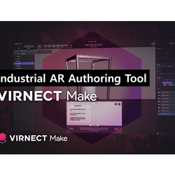 VIRNECT Make & View_data visualization and manual guide on-site
