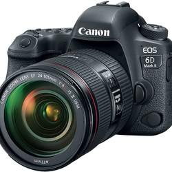 Ca-non E.O.S 6D Mark II DSLR Camera with EF 24-105mm USM Lens - WiFi Enabled